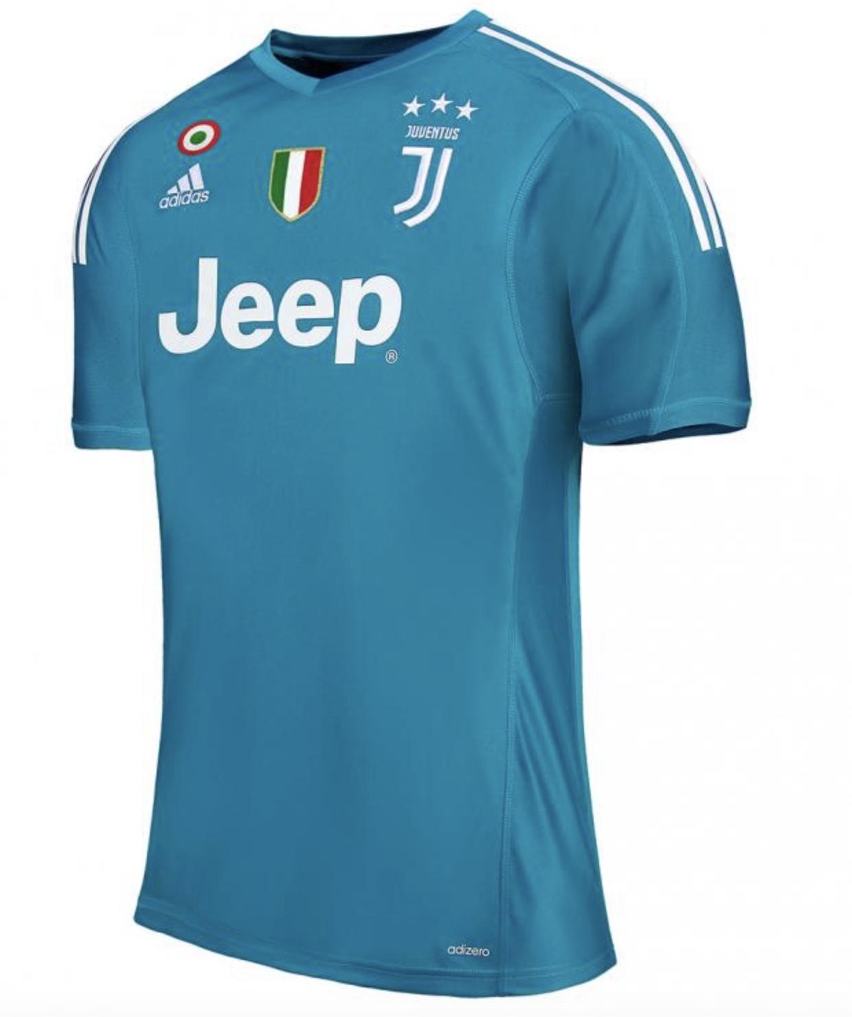 Juve, UFFICIALE: la maglia da portiere 2017-18 | Juventus ...