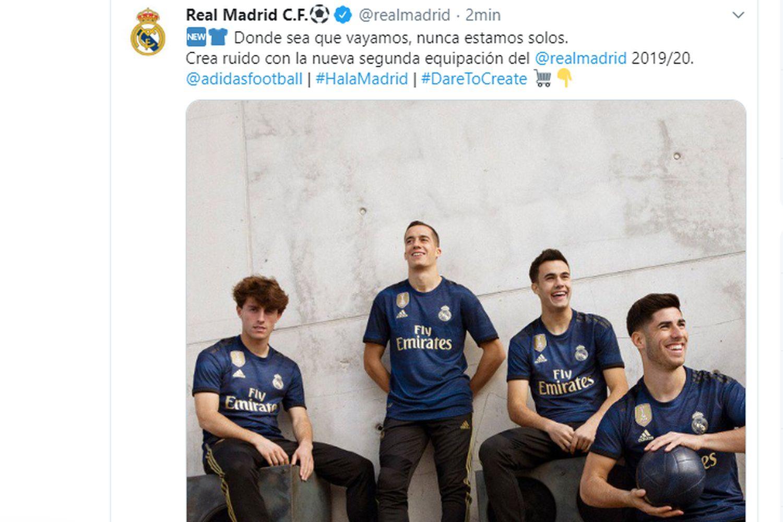 Real Madrid, ecco la seconda maglia FOTO   Estero   Calciomercato.com